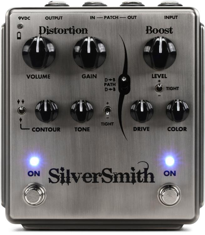 Egnater Silversmith Distortion and Boost Pedal image 1