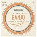 D'Addario EJ61 Nickel Wound Banjo Strings - .010-.023 Medium 5-Str