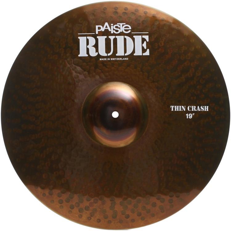 Paiste Rude Thin Crash - 19