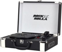 Rock N Rolla Premium Briefcase Turntable - Black