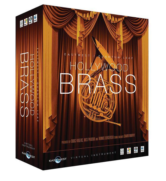 EastWest Hollywood Brass - Diamond Edition (Mac Hard Drive) image 1