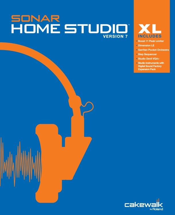 cakewalk sonar home studio 7 xl academic sweetwater. Black Bedroom Furniture Sets. Home Design Ideas