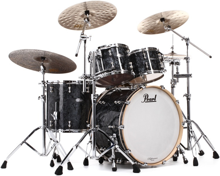 Pearl Music City Custom Reference Pure Shell Pack 4-piece w/24