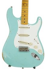 Fender Custom Shop 1956 Stratocaster Heavy Relic - Faded Seafoam Green