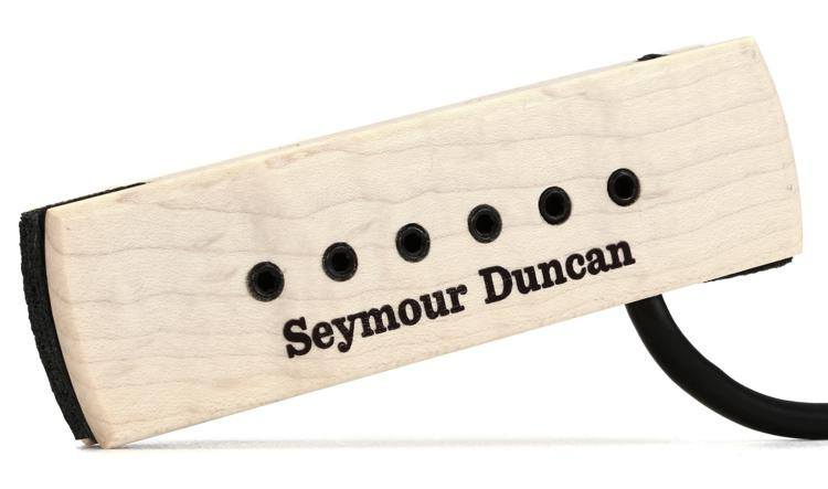 Seymour Duncan SA-3XL Adjustable Woody Acoustic Soundhole Pickup - Natural Hum-canceling image 1