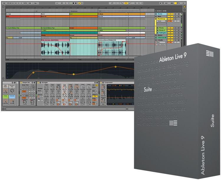 Ableton Live 9 Suite Educational Site License - 25+ Seats - per seat (download) image 1
