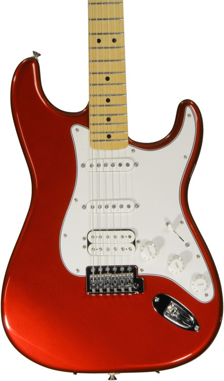 Fender Standard Stratocaster HSS - Candy Apple Red with Maple Fingerboard image 1