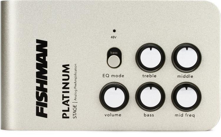 Fishman Platinum Stage EQ/DI Analog Preamp image 1