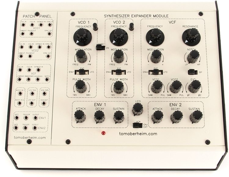 Tom Oberheim SEM with Patch Panel image 1