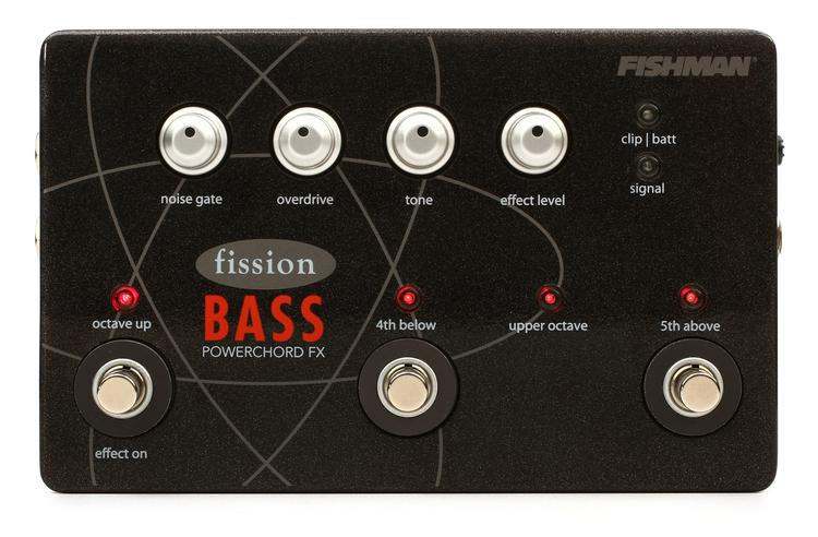 Fishman Fission Bass Powerchord FX Pedal image 1