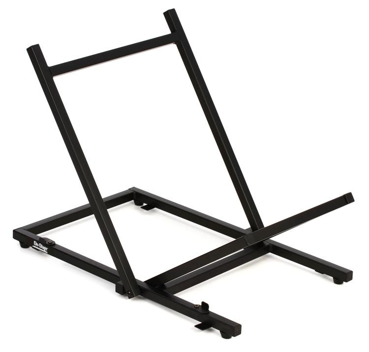 On-Stage Stands RS6000 Folding Tiltback Amp Stand - Large - 120lbs Max image 1