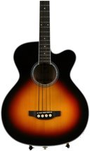 Takamine GB72CE Jumbo Acoustic Electric Bass - Sunburst