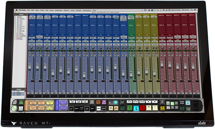 Slate Media Technology RAVEN MTi2 Multi-Touch Production Console image 1