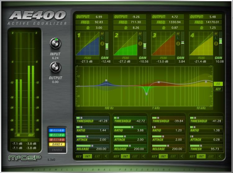 McDSP AE400 Active EQ Native v6 Plug-in image 1