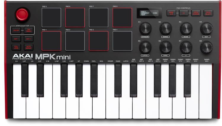 AKAI专业MPK MINI MK III 25键键盘控制器图像1