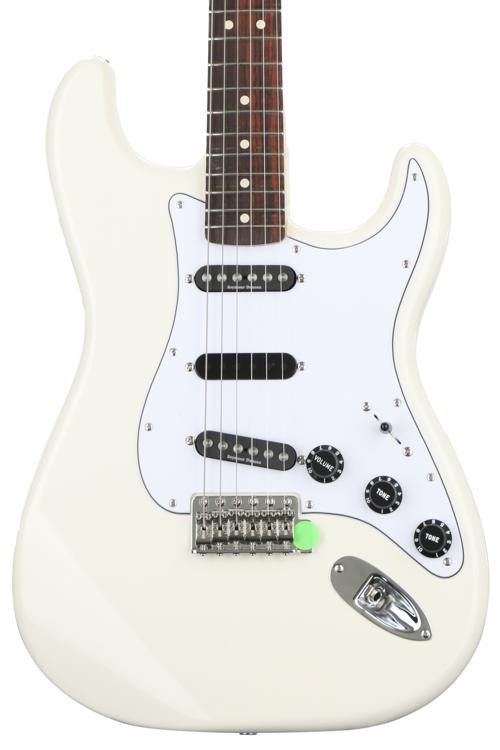 Fender Ritchie Blackmore Stratocaster - Olympic White with Rosewood Fingerboard image 1
