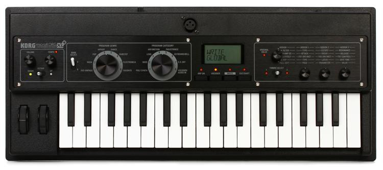korg microkorg xl synthesizer with vocoder sweetwater. Black Bedroom Furniture Sets. Home Design Ideas