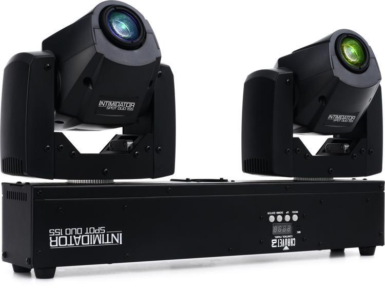 Chauvet DJ Intimidator Spot Duo 155 Dual 32W Moving Head Fixture image 1