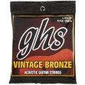 GHS VN-L Vintage Bronze 85/15 Light Acoustic Guitar Strings