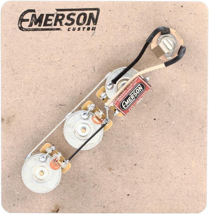 Emerson Custom Prewired Kit for Fender Jazz Bass image 1