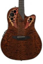 Ovation Elite Plus Celebrity - Tiger Eye
