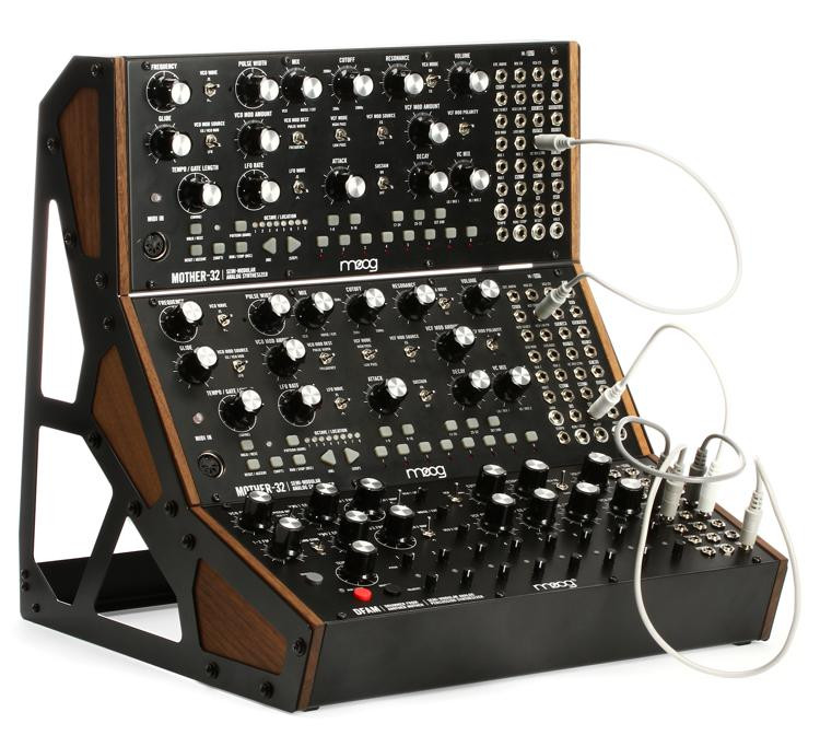 moog dfam and dual mother32 semi modular eurorack synthesizer system sweetwater. Black Bedroom Furniture Sets. Home Design Ideas