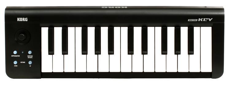 Korg microKEY25 Keyboard Controller image 1