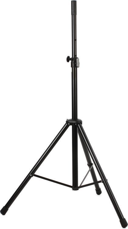 K&M 21436 Aluminum Speaker Stand - Black image 1