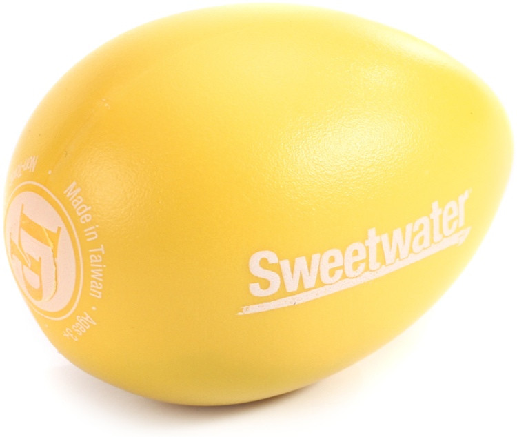 Latin Percussion Sweetwater Egg Shaker - Yellow image 1