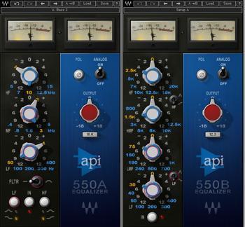 Waves API 550 A + API 550 B Plug-in Suite image 1