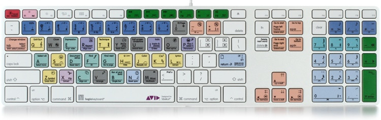 LogicKeyboard Advance Line Mac Keyboard - Avid Sibelius image 1