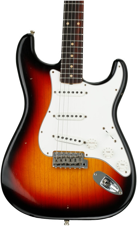 Fender Custom Shop Postmodern Stratocaster Journeyman Relic - 3-color Sunburst with Rosewood Fingerboard image 1