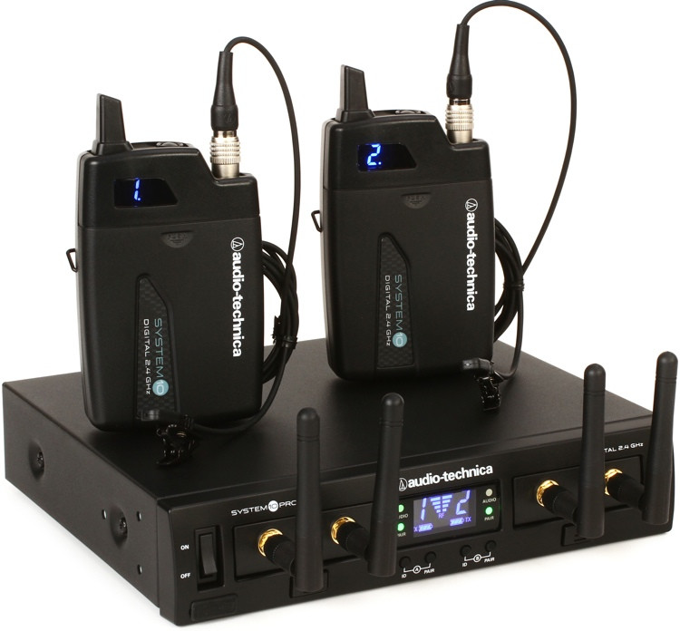 Audio-Technica System 10 Pro Digital Wireless - Dual Lavalier System image 1