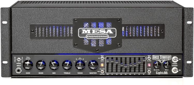 Mesa/Boogie Bass Strategy Eight:88 - 465-Watt Bass Head - Rackmount image 1