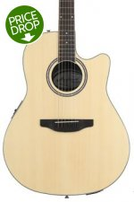 Ovation Applause AB24II Balladeer, Mid-depth bowl - Natural