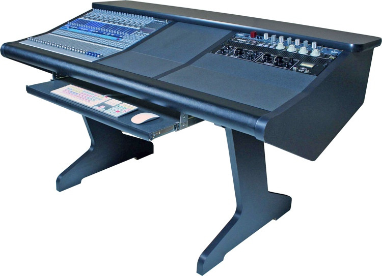 Malone Design Works StudioLive 24 Desk with One Rack Bay image 1