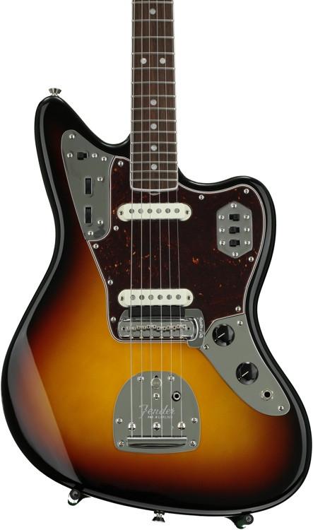 Fender American Vintage \'65 Jaguar - 3-color Sunburst with Rosewood Fingerboard image 1