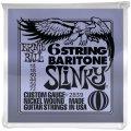 Ernie Ball 2839 Slinky Nickel Wound 6-String Baritone Strings