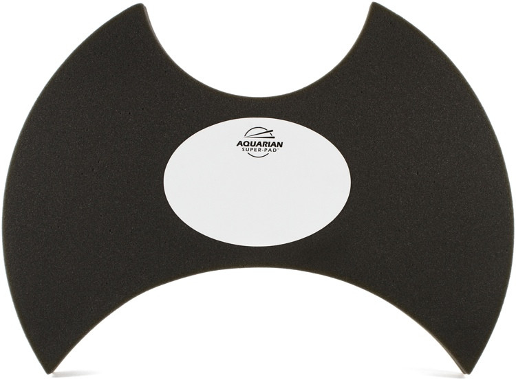 Aquarian Drumheads Super-Pad Low-volume Bass Drum Surface - 22
