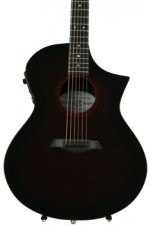 Composite Acoustics GX Grand Auditorium, Narrow neck - Wine Red Burst