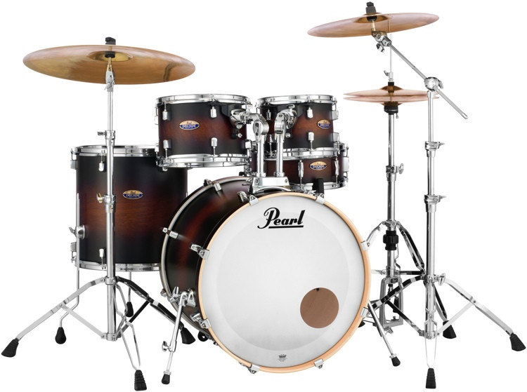 Pearl Decade Maple Shell Pack - 5pc - Satin Brownburst image 1
