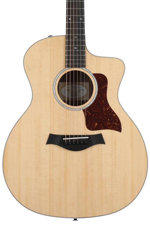 Taylor 214ce DLX - Layered Rosewood back and sides image 1