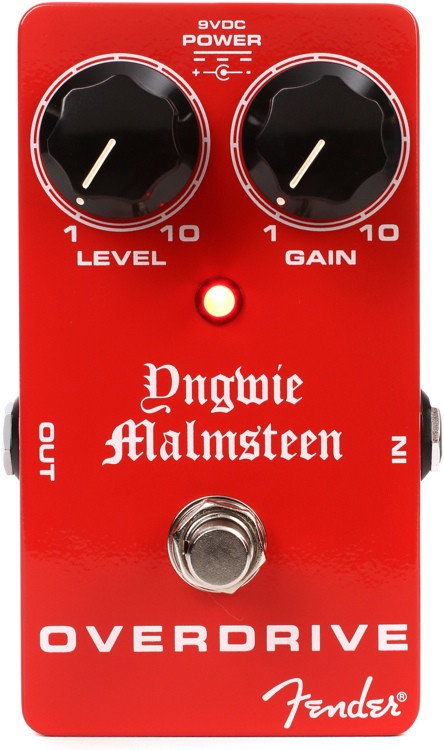 Fender Yngwie Malmsteen Overdrive Pedal image 1