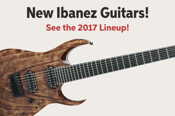 New lbanez Guitars! See the 2017 Lineup! A
