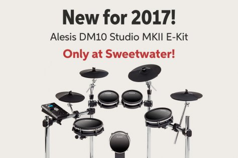 New for 2017! Alesis DMlO Studio MKII E-Kit Only at Sweetwater!