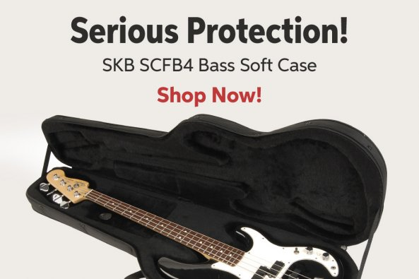 Serious Protection! SKB SCFB4 Bass Soft Case Shop Now!