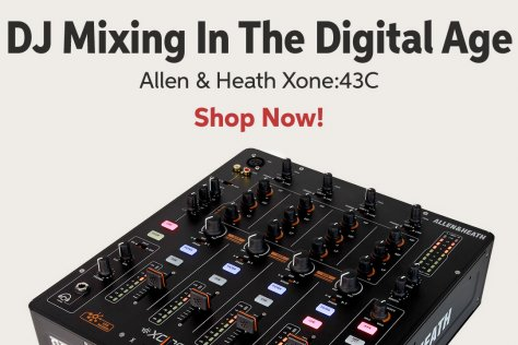 DJ Mixing In The Digital Age Allen 8i Heath Xone243C Shop Now!
