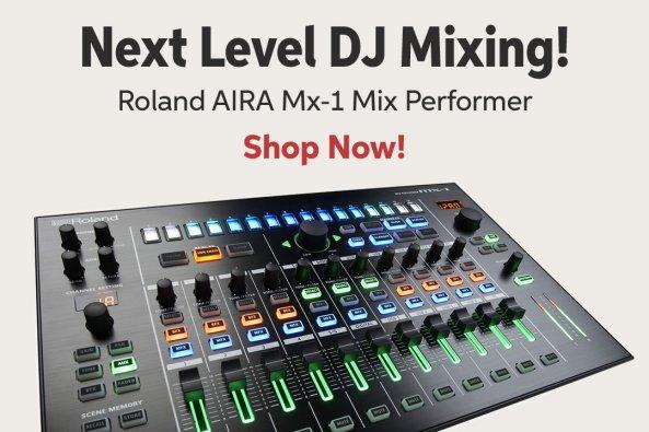 Next Level DJ Mixing! Roland AIRA Mx-l Mix Performer Shop Now!