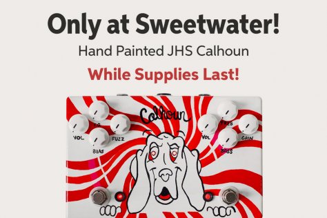 Only at Sweetwater! Hand Painted JHS Calhoun While Supplies Last!