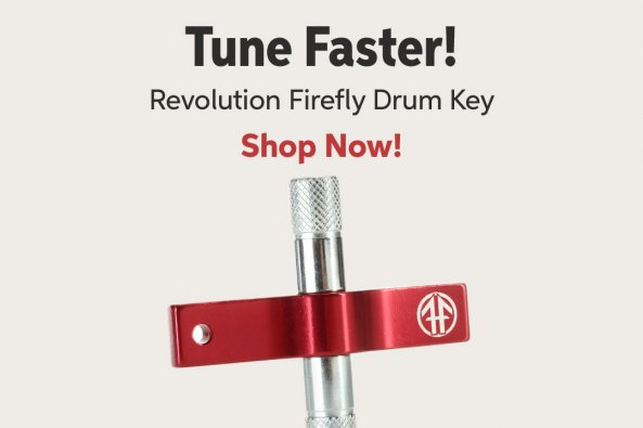 Tune Faster! Revolution Firefly Drum Key Shop Now!